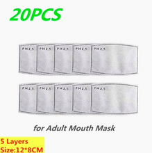 Load image into Gallery viewer, Face Mask Filters- PM2.5 Activated Carbon Face Mask Filters