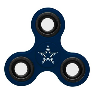 Dallas Cowboys Hand Spinner - 3 Way Diztracto Fidget Hand Spinner
