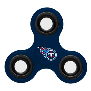 Tennessee Titans Hand Spinner - 3 Way Diztracto Fidget Hand Spinner