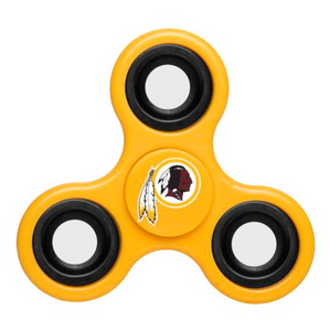 Washington Redskins Hand Spinner - 3 Way Diztracto Fidget Hand Spinner