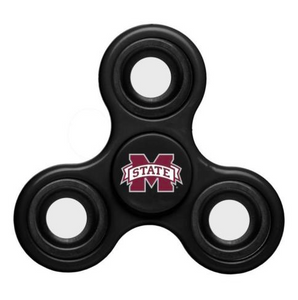 Mississippi State Bulldogs Hand Spinner - 3 Way Diztracto Fidget Hand Spinner