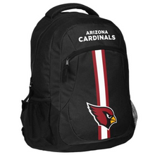 Load image into Gallery viewer, Arizona Cardinals Backpack - Team Logo Laptop Backpack