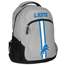 Load image into Gallery viewer, Detroit Lions Backpack - Team Logo Laptop Backpack