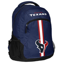 Load image into Gallery viewer, Houston Texans Backpack - Team Logo Laptop Backpack