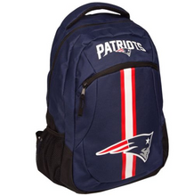 Load image into Gallery viewer, New England Patriots Backpack - Team Logo Laptop Backpack