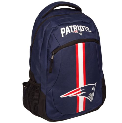 New England Patriots Backpack - Team Logo Laptop Backpack