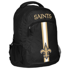 Load image into Gallery viewer, New Orleans Saints Backpack - Team Logo Laptop Backpack