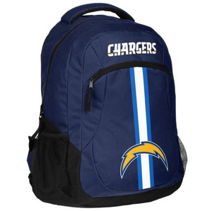 Los Angeles Chargers Backpack - Team Logo Laptop Backpack