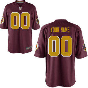 Washington Redskins Jersey - Men's Custom Throwback Game Jersey