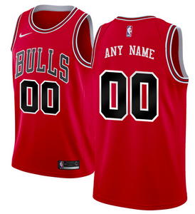 Chicago Bulls Jersey - Custom Name and Number - Two Color Options
