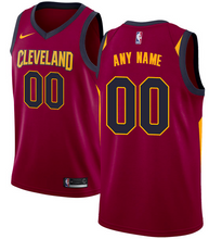 Load image into Gallery viewer, Cleveland Cavaliers Jersey - Custom Name and Number - Red