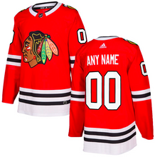 Load image into Gallery viewer, Chicago Blackhawks Jersey - Custom Name and Number - Red