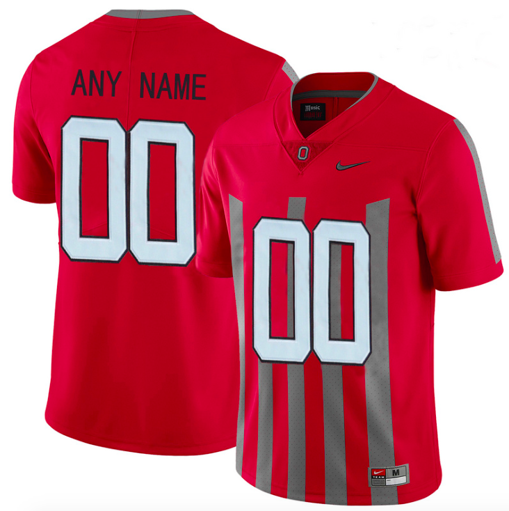 Ohio State Buckeyes Jersey - Custom 1913 Throwback Jersey - Any Name and Number