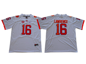 Clemson Tigers Jersey - Trevor Lawrence - Three Color Options