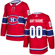 Load image into Gallery viewer, Montreal Canadiens Jersey - Red Custom Any Name or Number
