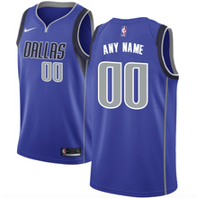 Load image into Gallery viewer, Dallas Mavericks Jersey - Custom Name and Number - Royal