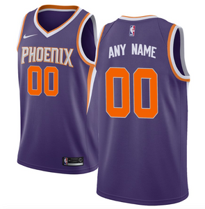 Phoenix Suns Jersey - Custom Name and Number - Purple