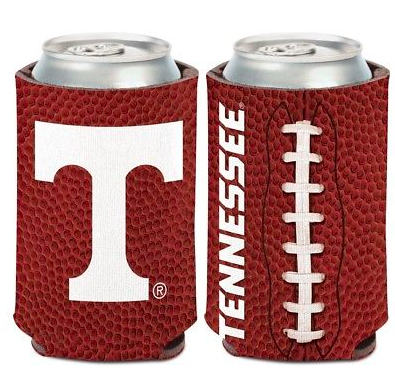 Tennessee Volunteers Koozie - 12oz Football Can Koozie