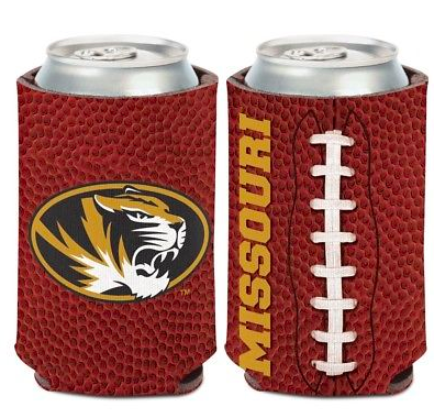 Missouri Tigers Koozie - 12oz Football Can Koozie