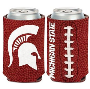 Michigan State Spartans Koozie - 12oz Football Can Koozie