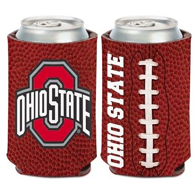 Ohio State Buckeyes Koozie - 12oz Football Can Koozie