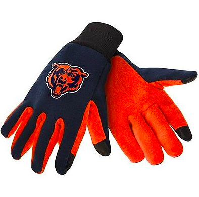 Chicago Bears Gloves - Technology Texting Gloves