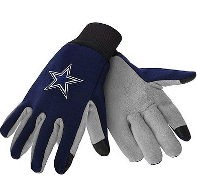 Dallas Cowboys Gloves - Technology Texting Gloves
