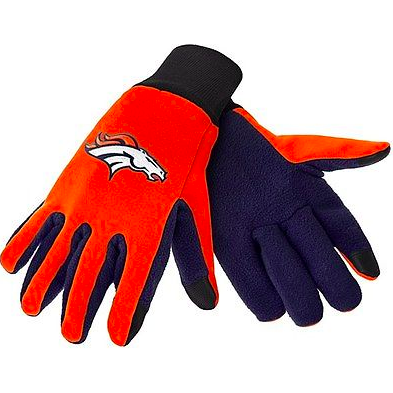 Denver Broncos Gloves - Technology Texting Gloves