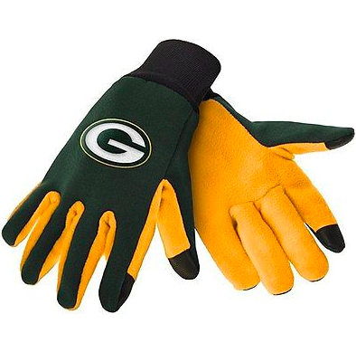 Green Bay Packers Gloves - Technology Texting Gloves