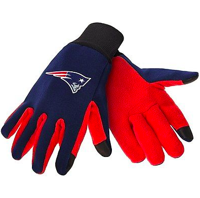 New England Patriots Gloves - Technology Texting Gloves