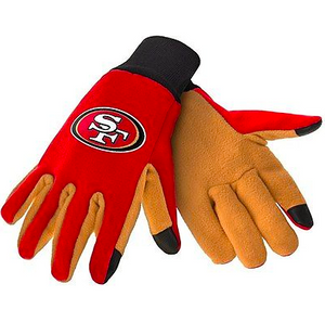 San Francisco 49ers Gloves - Technology Texting Gloves
