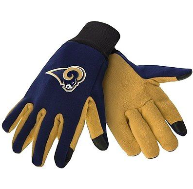 Los Angeles Rams Gloves - Technology Texting Gloves