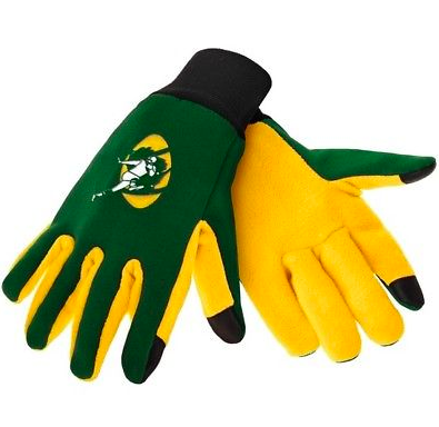 Green Bay Packers Gloves - Technology Texting Gloves - Retro