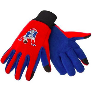 New England Patriots Gloves - Technology Texting Gloves - Retro