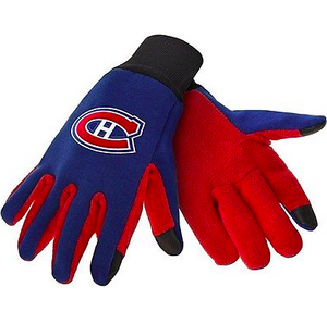 Montreal Canadiens Gloves - Technology Texting Gloves