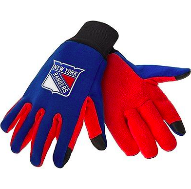 New York Rangers Gloves - Technology Texting Gloves