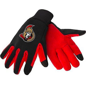 Ottawa Senators Gloves - Technology Texting Gloves