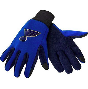 St. Louis Blues Gloves - Technology Texting Gloves