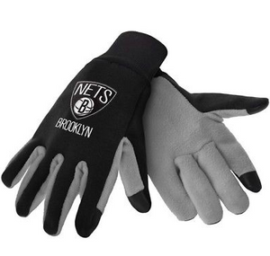 Brooklyn Nets Gloves - Technology Texting Gloves