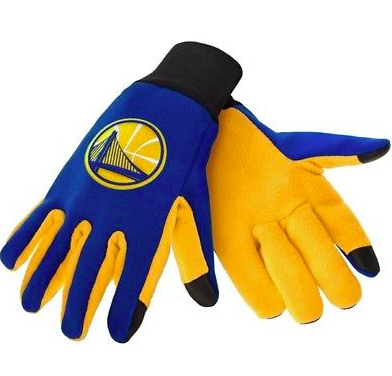 Golden State Warriors Gloves - Technology Texting Gloves