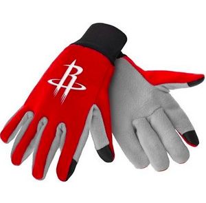 Houston Rockets Gloves - Technology Texting Gloves