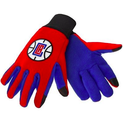 Los Angeles Clippers Gloves - Technology Texting Gloves