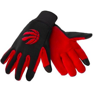 Toronto Raptors Gloves - Technology Texting Gloves