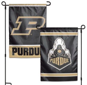 "Purdue Boilermakers Flag - Indoor/Outdoor 12""x18"" Garden Flag"
