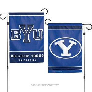 "BYU Cougars Flag - Indoor/Outdoor 12""x18"" Garden Flag"