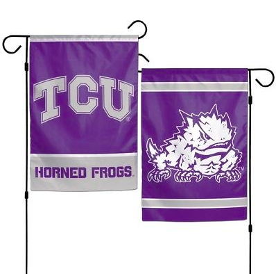 TCU Horned Frogs Flag - Indoor/Outdoor 12