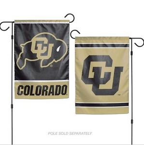 "Colorado Buffaloes Flag - Indoor/Outdoor 12""x18"" Garden Flag"