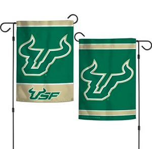 "South Florida Bulls Flag - Indoor/Outdoor 12""x18"" Garden Flag"