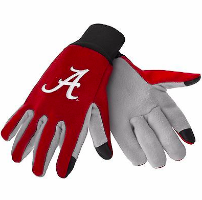 Alabama Crimson Tide Gloves - Technology Texting Gloves