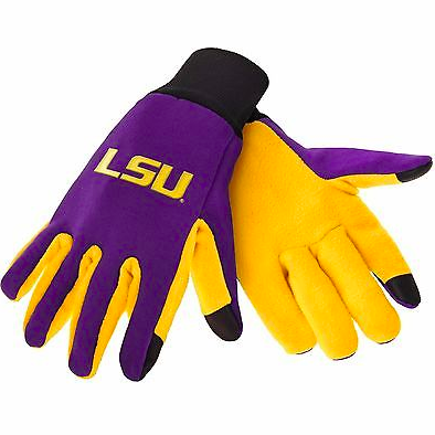 LSU Tigers Gloves - Technology Texting Gloves